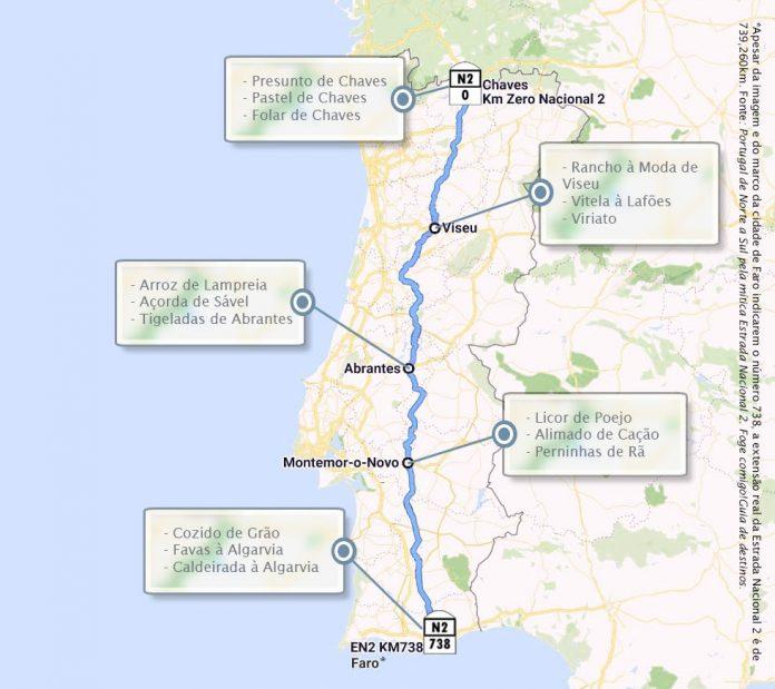 N2: Estrada de Sabores